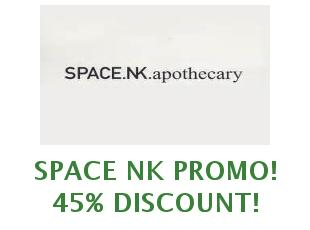 Promotional offers and codes Space NK