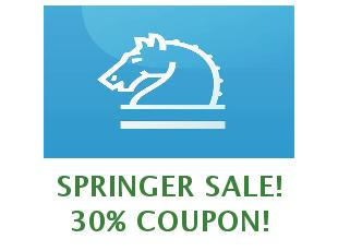 Promotional code Springer save up to 50%