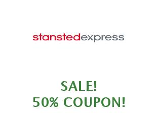 Discount coupon Stansted Express save up to 50%