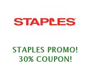 Promotional codes 30% off Staples