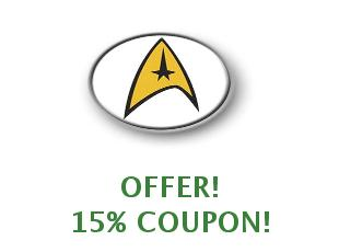 Discount coupon Star Trek Shop save up to 50%