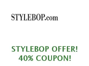 Promotional offers and codes StyleBop save up to 30%