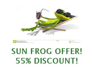 Coupons Sun Frog 10% off