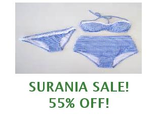 Coupons Surania save up to 20%