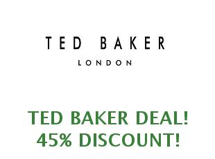 Promotional codes and coupons Ted Baker save up to 25%