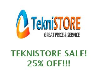 Discounts Teknistore save up to 40%