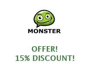Discounts Template Monster, save up to 25%