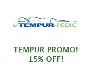 Promotional offers and codes Tempur save up to 50%