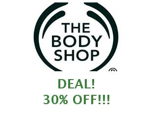 Promotional codes The Body Shop