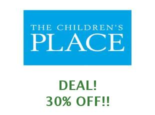 Coupons The Children's Place save up to 50%