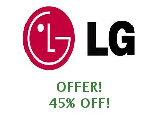 Discount coupon Tienda LG Online save up to 25%