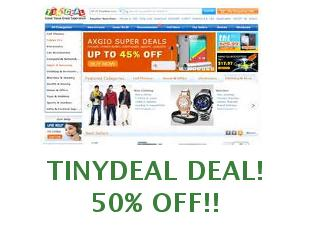 Coupons Tinydeal save up to 45%