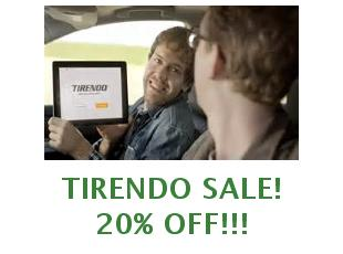 Promotional code Tirendo 25% off