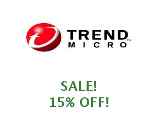 Promotional offers and codes Trend Micro save up to 10%