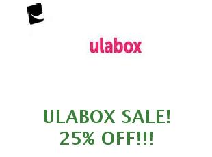 Coupons Ulabox 50% off