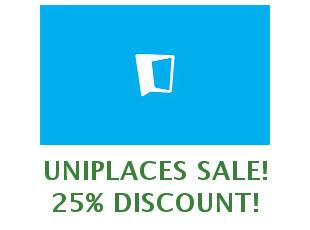 Promotional offers and codes Uniplaces save up to 25%