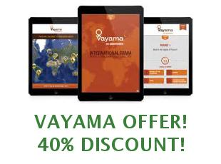Coupons Vayama $30 off
