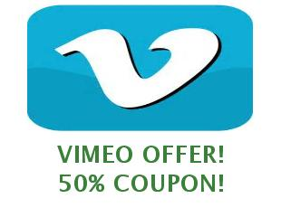 Promotional codes Vimeo, save up to 50%