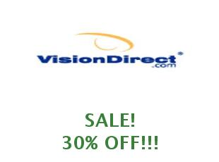 Discount code Vision Direct 25% off