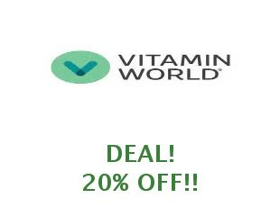 Promotional codes and coupons Vitamin World