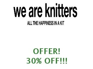 Promotional code We Are Knitters save up to 25%