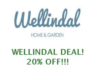 Promotional code Wellindal save up to 10%