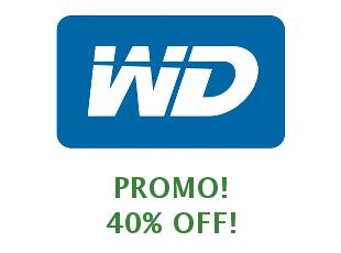 Coupons Western Digital 10% off