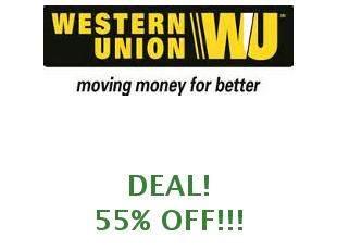 Discount coupons Western Union