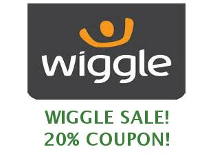 Promotional Wiggle codes save $20