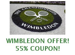 Promotional offers and codes Wimbledon