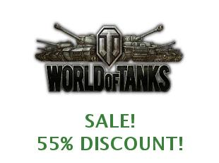 Coupons World of tanks save up to 40%