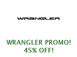 Discount code Wrangler save up to 25%