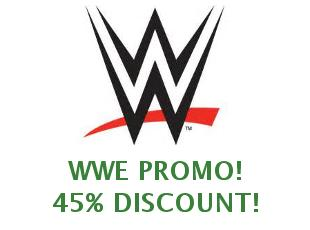 Discount coupons WWE, save 30%