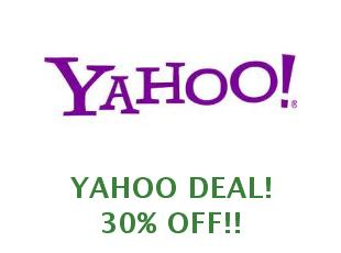 Promotional code Yahoo save up to 10%