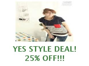 Discount codes Yes Style