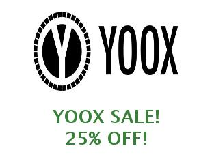 Promotional codes and coupons YOOX save up to 20%
