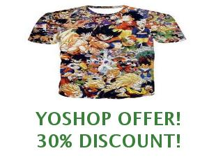 Promotional offers and codes Yoshop $25 off