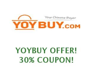 Discount coupon Yoybuy save up to 50%