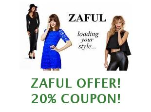 Discounts Zaful, save 20%