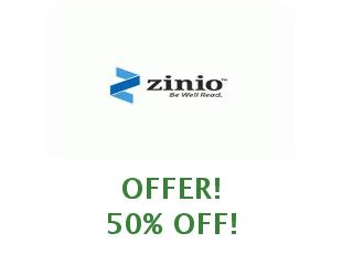 Promotional codes Zinio Digital Magazines